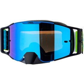 O'Neal B-30 Goggles, bold-blue/neon yellow-radium red
